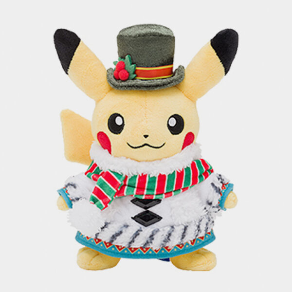 Pokémon Center Christmas 2020 Pikachu Plush