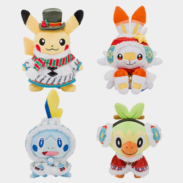 Pokémon Center Japan Christmas 2020 Plushies
