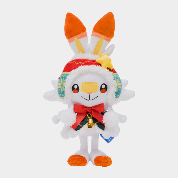 Pokémon Christmas 2020 Scorbunny Plush