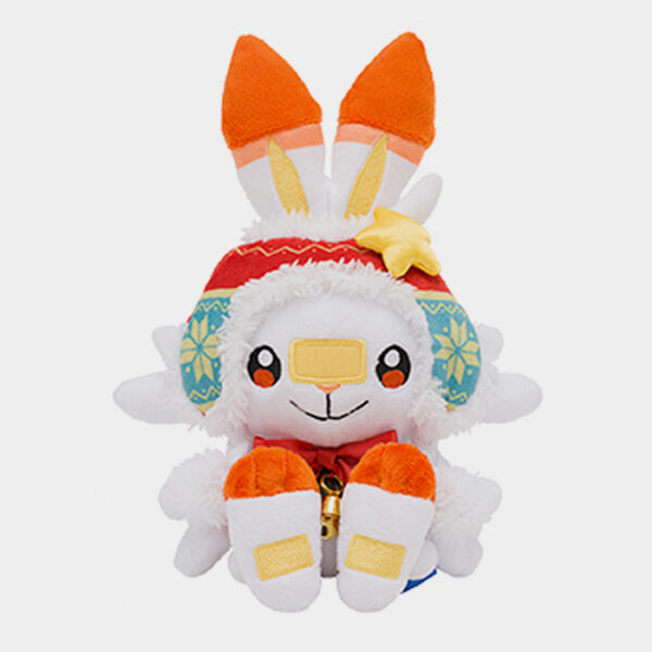 Pokémon Center Christmas 2020 Scorbunny Plush