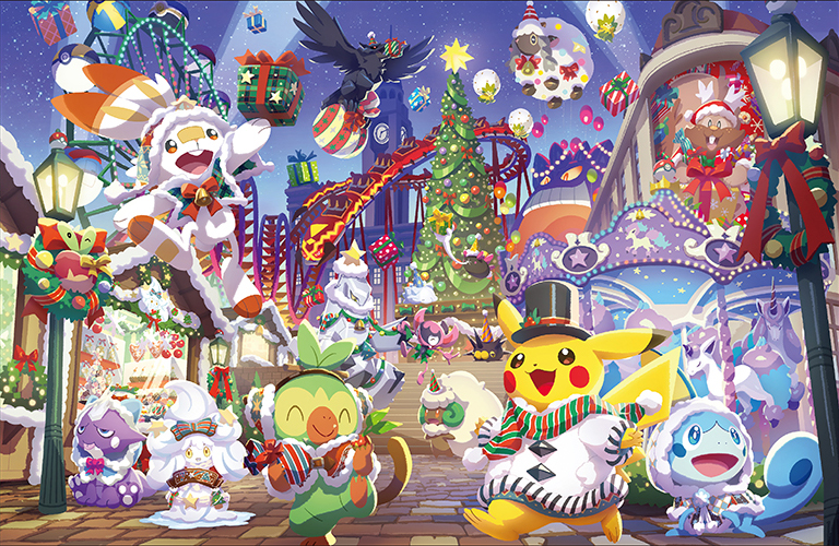 Pokémon Center Japan Christmas 2020