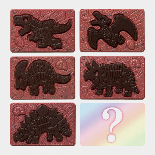 Strawberry Chocolate Dinosaur Excavation