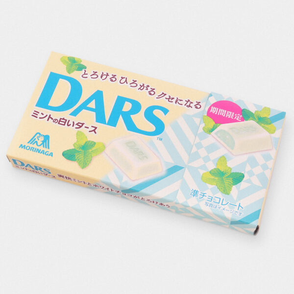 DARS Mint White Chocolate