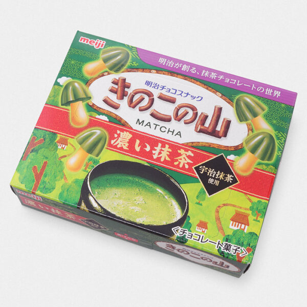 Kinoko No Yama Cookies - Matcha (Green Tea)