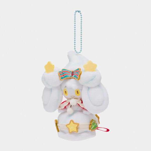 Pokémon Christmas 2020 Alcremie Keychain Plush