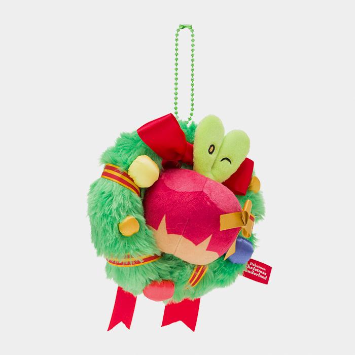 Pokémon Christmas 2020 Applin Keychain Plush