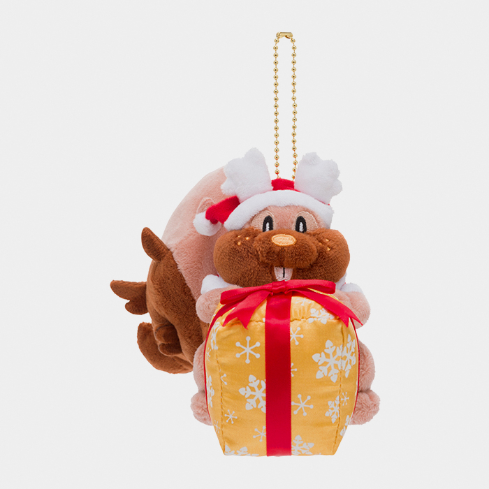 Pokémon Christmas 2020 Greedent Keychain Plush