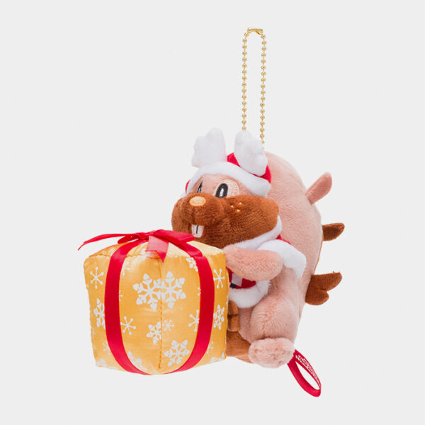 Pokémon Christmas 2020 Greedent Keychain Plush
