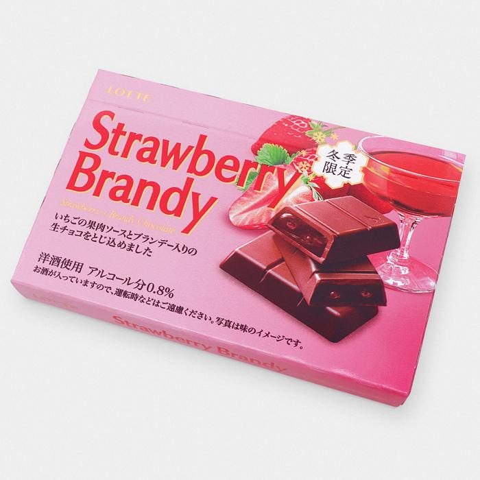 Lotte Strawberry Brandy Chocolate