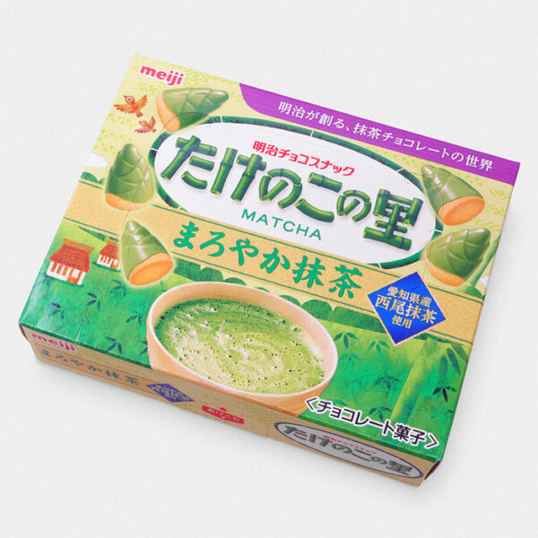 Takenoko No Sato Cookies - Matcha (Green Tea)