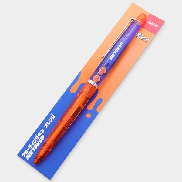 Nintendo Store Tokyo Splatoon Moving Squid Pen Orange