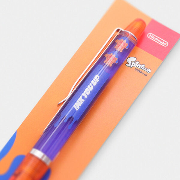 Nintendo Store Tokyo Splatoon Moving Squid Pen Orange