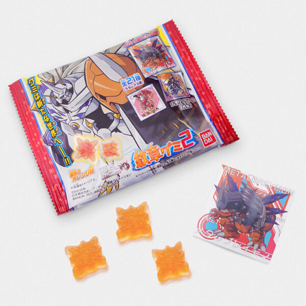 Digimon Adventure Heraldic Gummy Candy