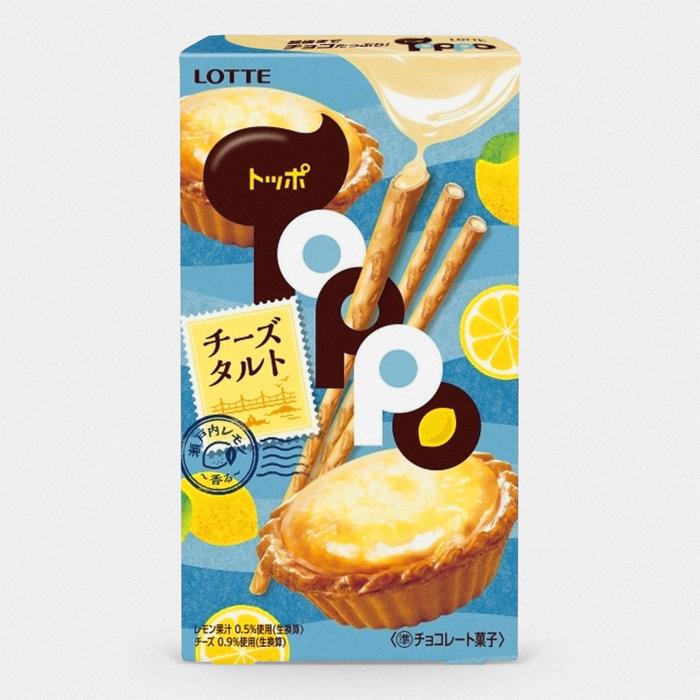 Toppo Cookie Sticks – Lemon Cheese Tart