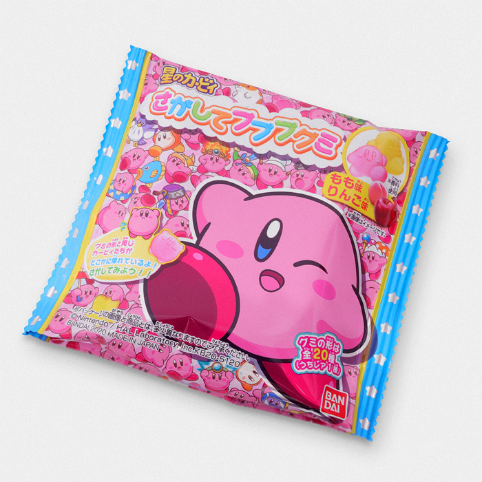 Kirby's Dream Land Gummy Candy