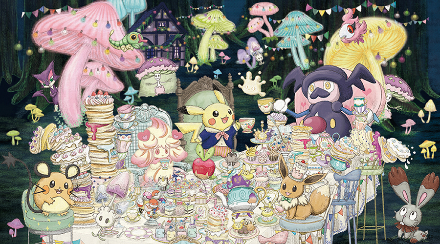 Pokémon Mysterious Tea Party