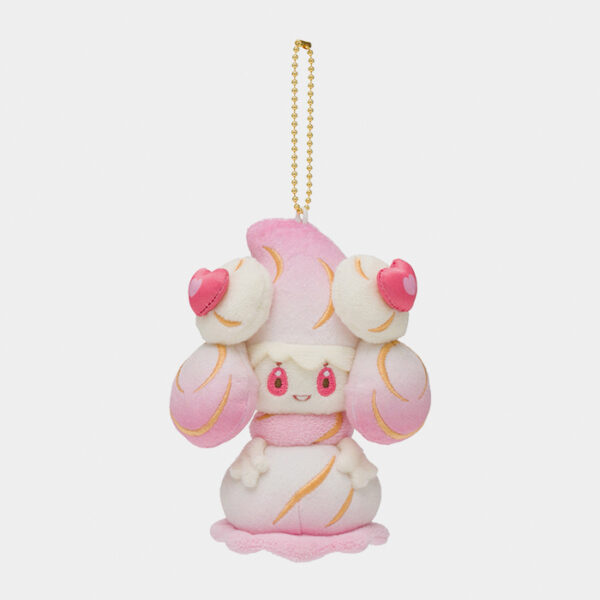 Pokémon Center Mysterious Tea Party Alcremie Keychain Plush