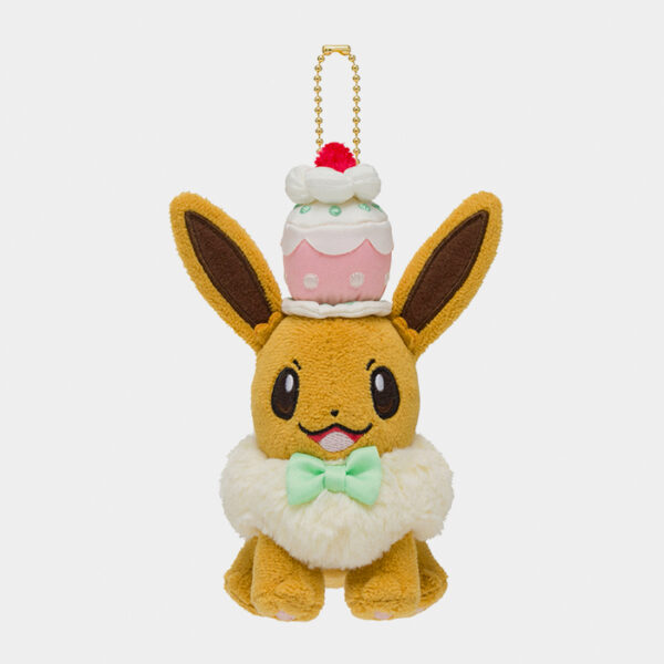 Pokémon Center Mysterious Tea Party Eevee Keychain Plush