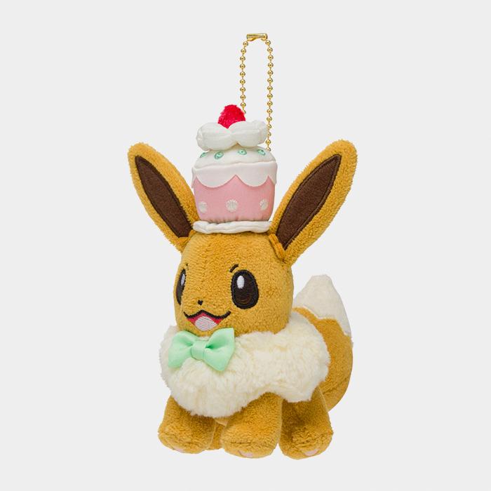 Pokémon Center Mysterious Tea Party Eevee Keychain Plush