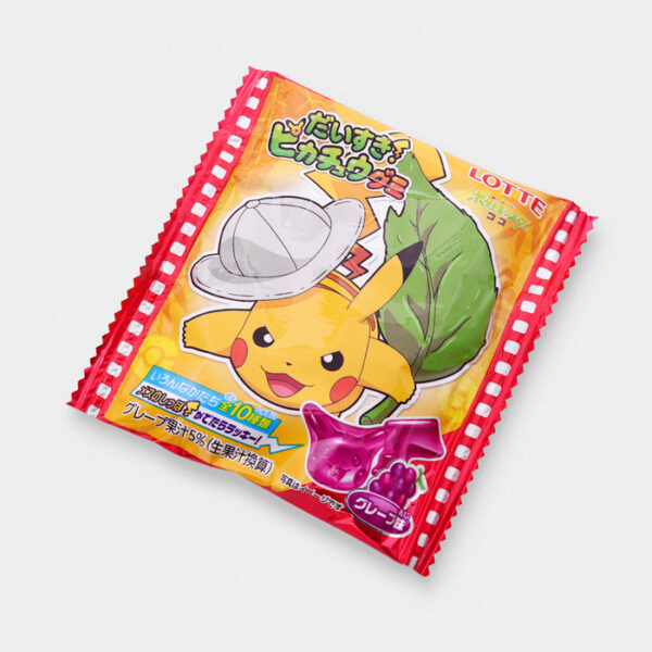 Pikachu Coco Movie Grape Gummy Candy