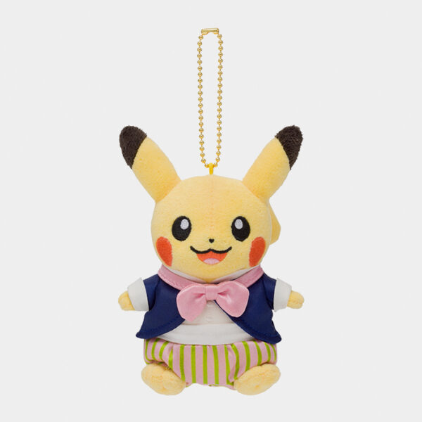 Pokémon Center Mysterious Tea Party Pikachu Keychain Plush