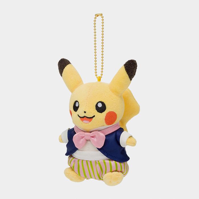 Pokémon Center Mysterious Tea Party Pikachu Keychain Plush