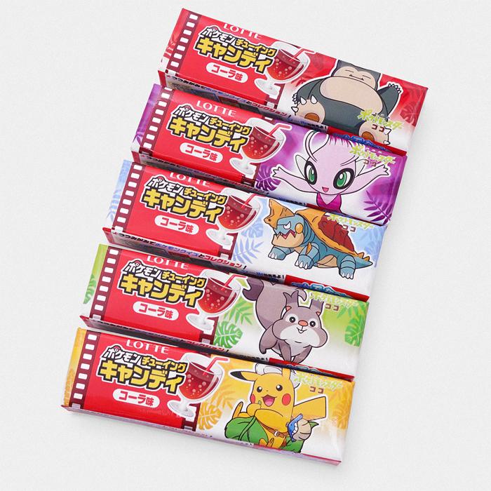 Pokémon Coco Movie Cola Sweets