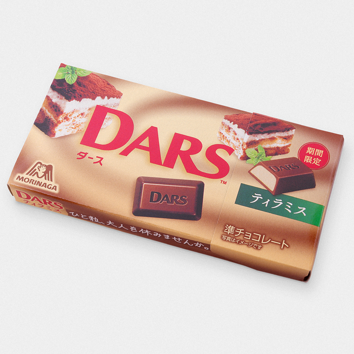 DARS Tiramisu Japanese Chocolate