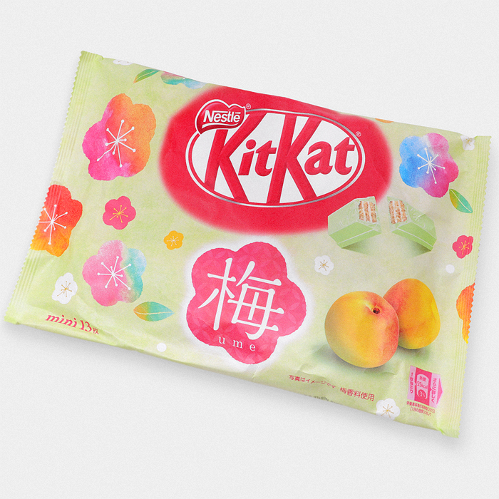 Japanese Ume Plum Kit Kat Bag