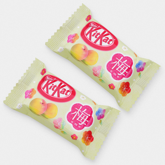 Japanese Ume Plum Kit Kat Bars