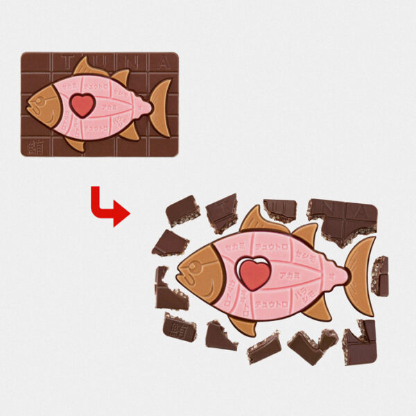 Japanese dismantling picture book anatomy chocolates
