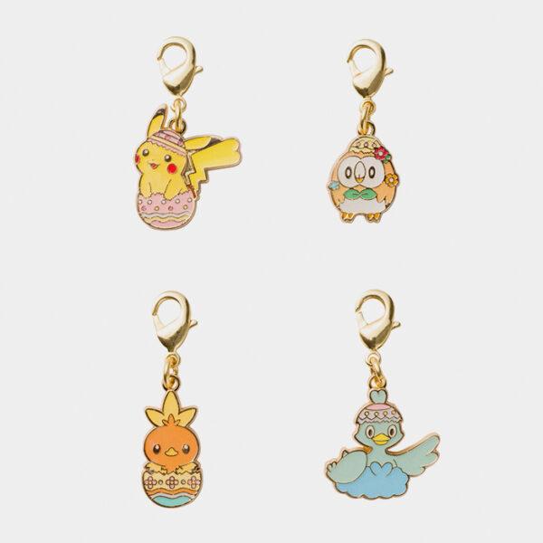 Pokémon Happy Easter Basket Pikachu Charm Set