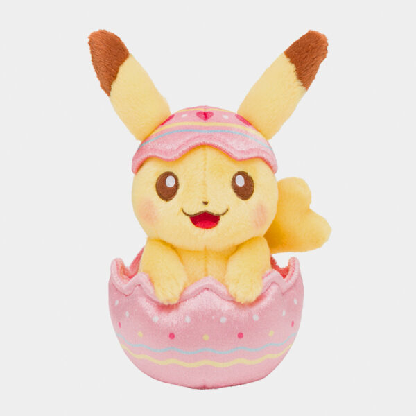 Pokémon Happy Easter Basket Pikachu Plush