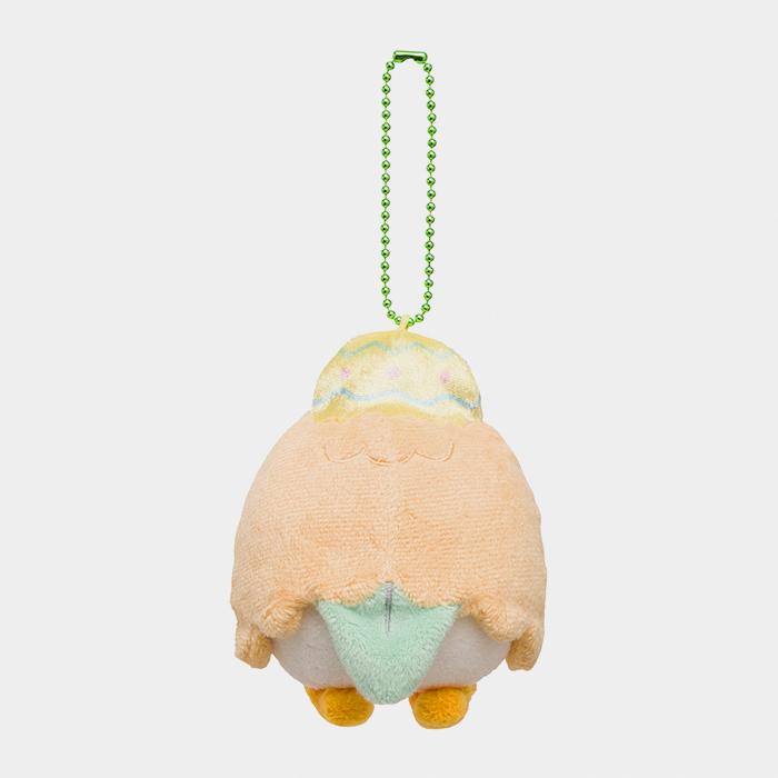Pokémon Happy Easter Basket Rowlet Keychain Plush