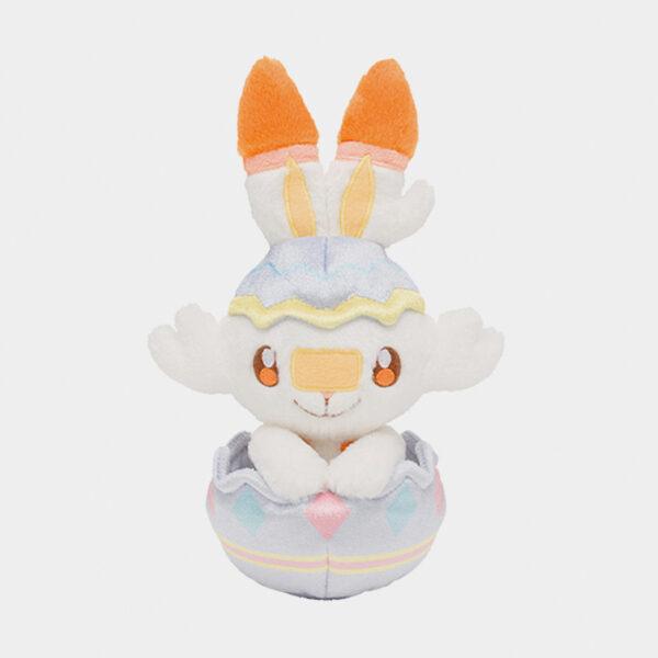 Pokémon Center Happy Easter Basket Scorbunny Plush