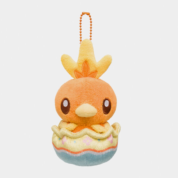 Pokémon Happy Easter Basket Torchic Keychain Plush