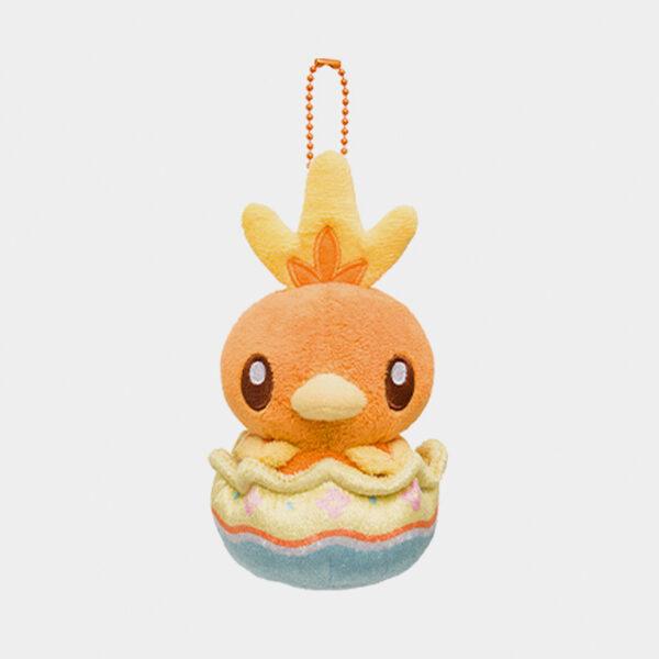 Pokémon Center Happy Easter Basket Torchic Keychain Plush