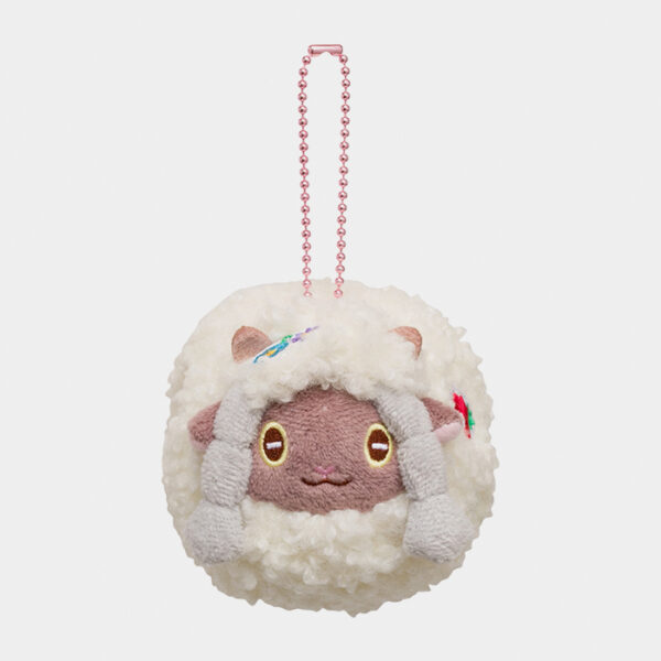 Pokémon Happy Easter Basket Wooloo Keychain Plush