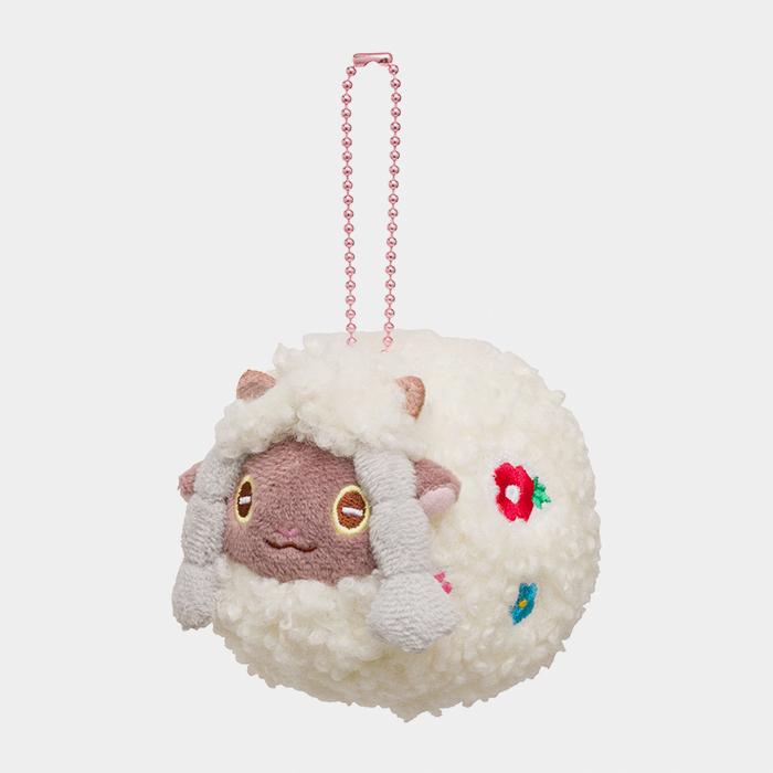 Pokémon Happy Easter Basket Wooloo Keychain Plush