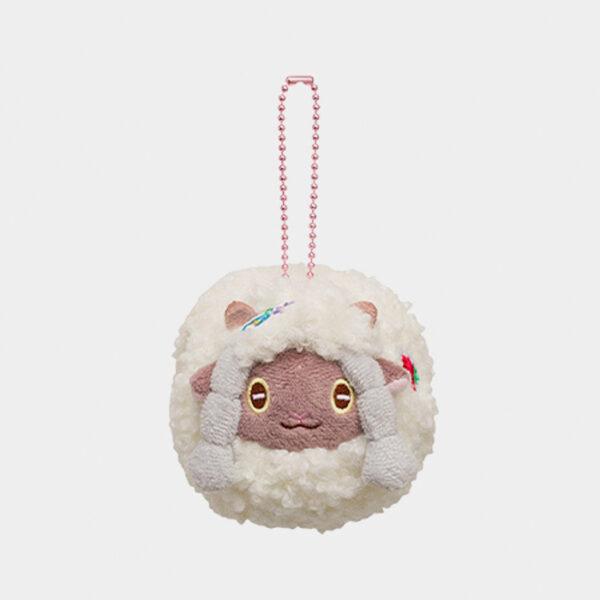 Pokémon Center Happy Easter Basket Wooloo Keychain Plush