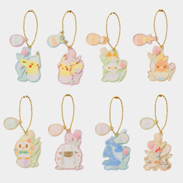 Pokémon Happy Easter Basket Acrylic Charms