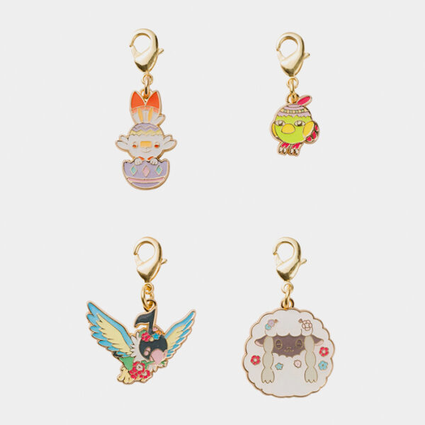 Pokémon Happy Easter Basket Scorbunny Charm Set