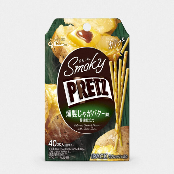 Japanese Smoky Buttered Potato Pretz