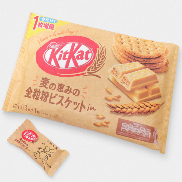Japanese Wholewheat Biscuit Kit Kat