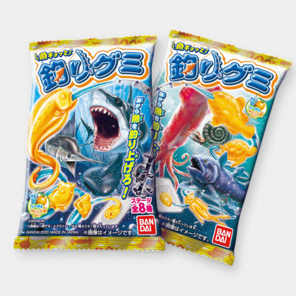 Japanese Fishing Gummy Candy