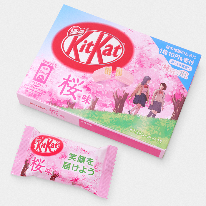 Japanese Sakura Kit Kat