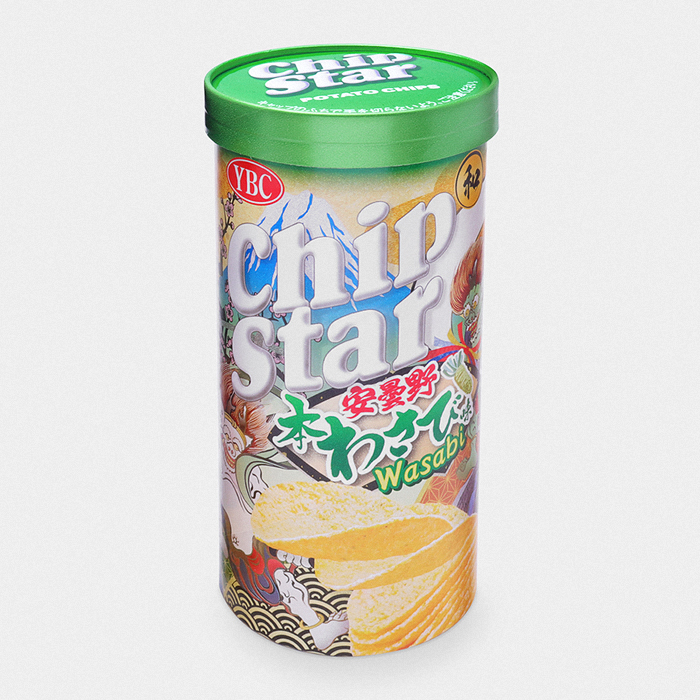 Japanese Chip Star - Wasabi Potato Chips