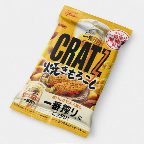 Cratz - Kirin Beer Grilled Corn Japanese Pretzels