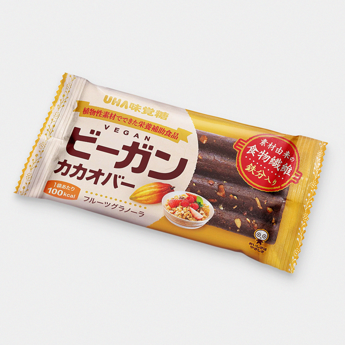 Japanese Vegan Cacao Bar - Fruit Granola
