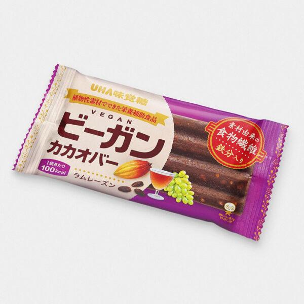 Japanese Vegan Cacao Bar - Rum Rasin